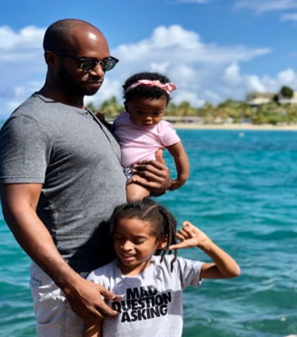 Chef Cory White, Our Most Valuable Father for June and July 2020 nurtures his children's genius by being present in their lives.